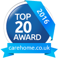 Whiteoaks Care Home Top 20 Award 2016