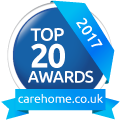 Whiteoaks Care Home Top 20 Award 2017