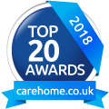 Whiteoaks Care Home Top 20 Award 2018