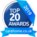 Whiteoaks Care Home Top 20 Award 2019